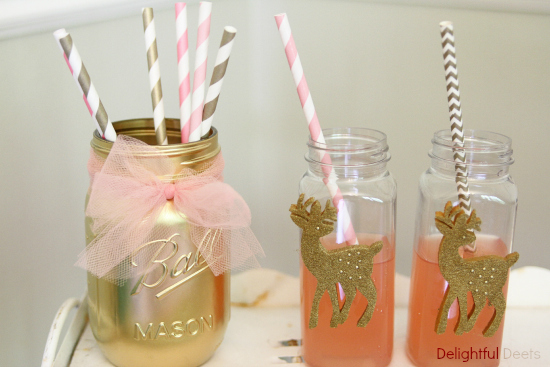 gold and pink party