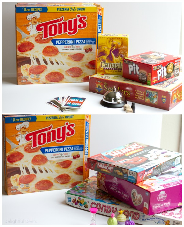 Tony's Pizza & Game Night