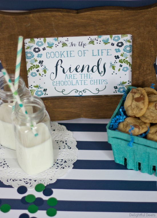 friendship cookie printable