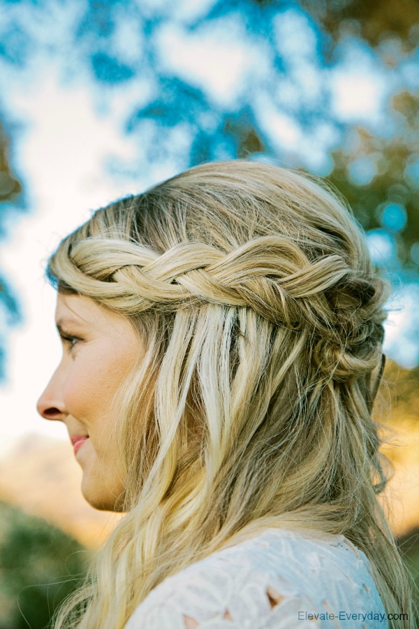 loose inside out braids
