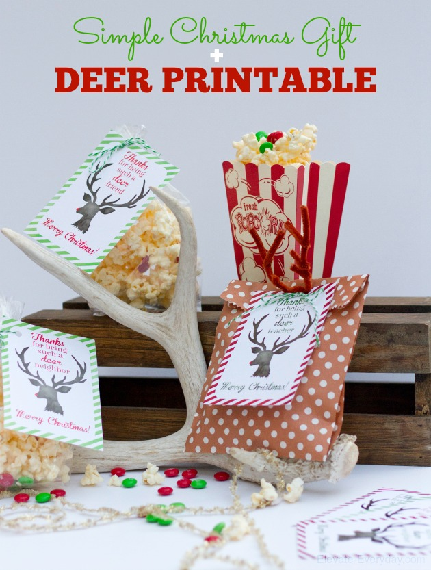 thanks free printables for Christmas