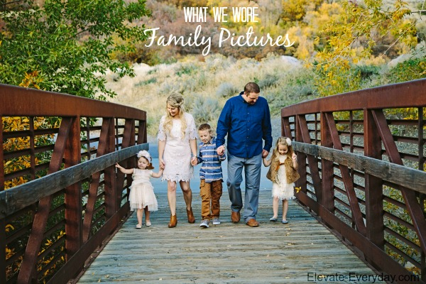 what we wore family pictures