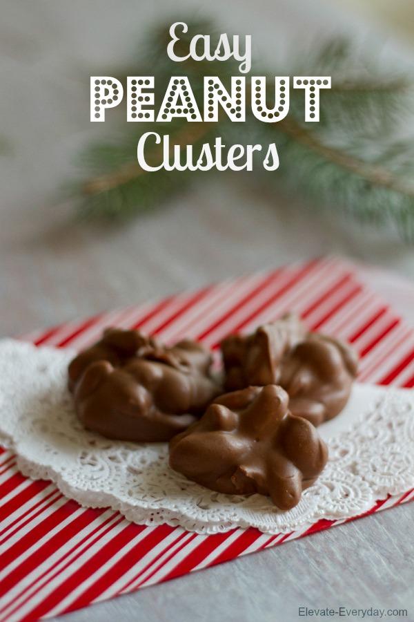 delicious peanut clusters