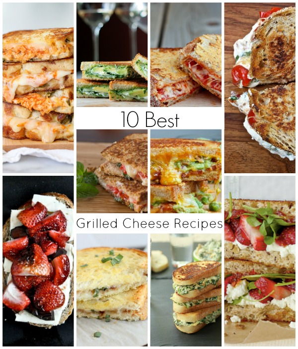 10 best grilled cheese recipes