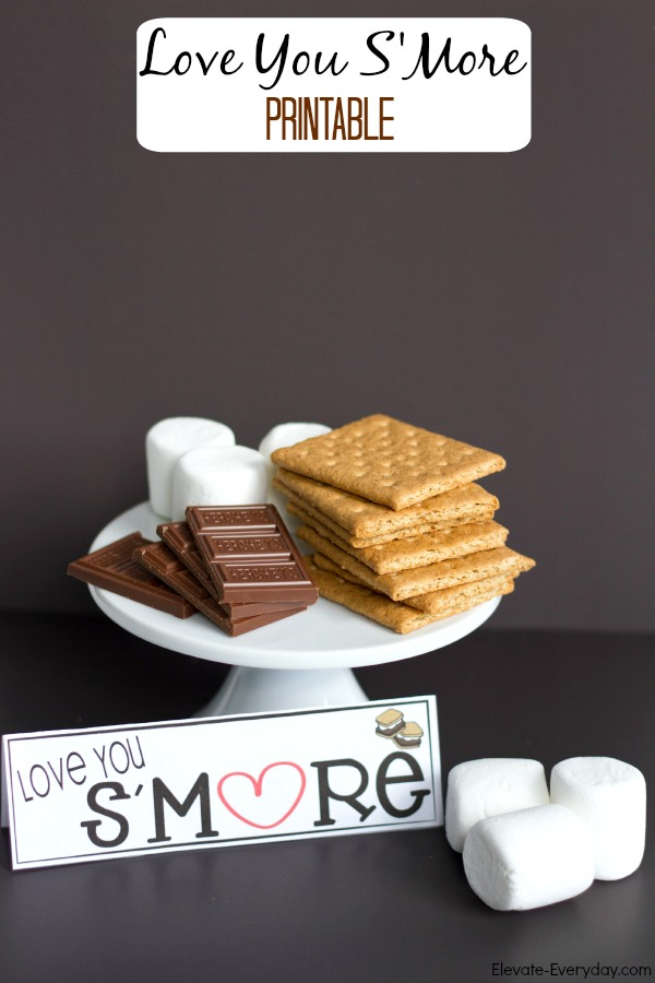 Love You S'More Printable