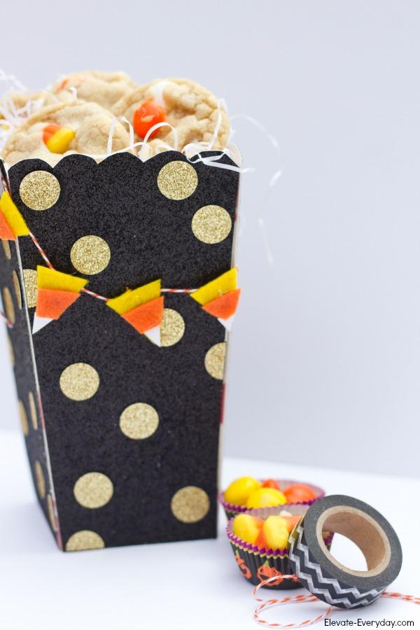 candy corn bunting