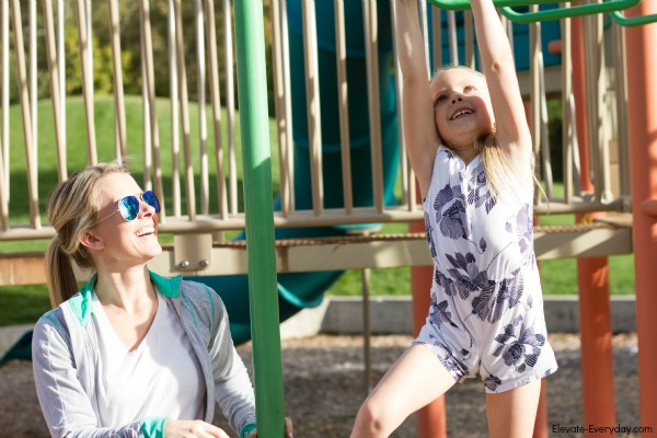 outdoor play time - Get Going with Zeal & Acai Bowl Recipe by Utah lifestyle blogger By Jen Rose