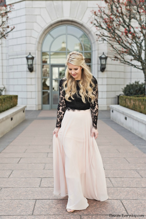 f69638705ee Crop Top Maxi Skirt Wedding - Image Skirt and Slipper Imagepv.co