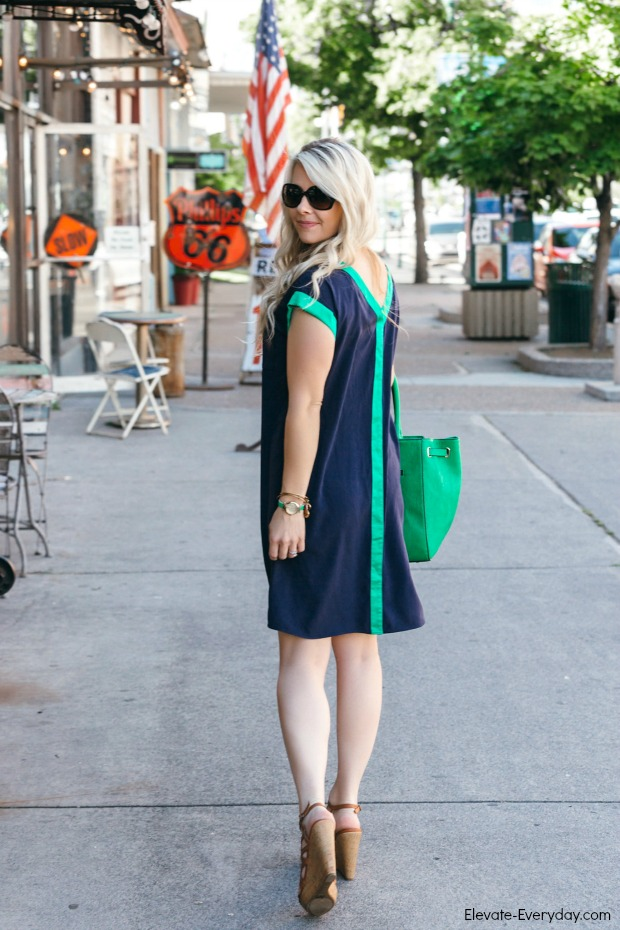 Navy & Emerald Fashion