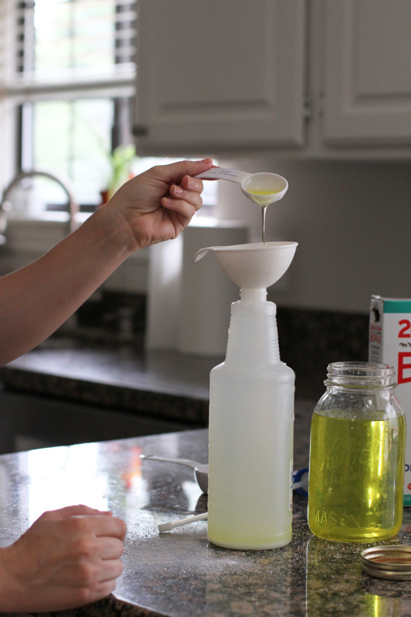 DIY All Purpose Cleaner by Utah lifestyle blogger By Jen Rose