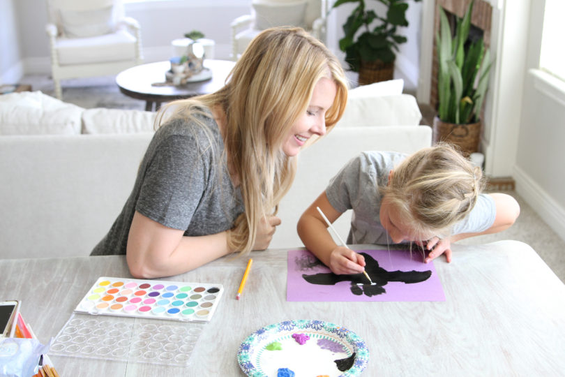 Halloween Crafts for Kids by Utah lifestyle blogger By Jen Rose