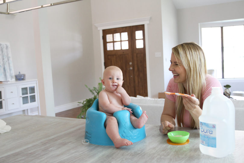Awesome Tips For Feeding Solids To Baby by Utah mom blogger By Jen Rose