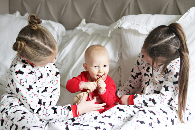 Kids Holiday Outfits & Pajamas by Utah fashion blogger By Jen Rose