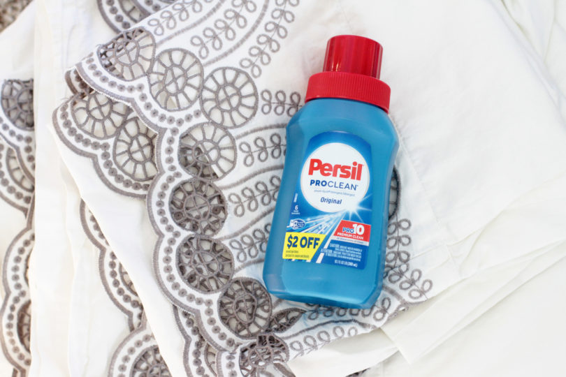 Persil Laundry Detergent - Keeping Your Whites Bright with Persil® Travel Size Laundry Detergent from Target® by Utah lifestyle blogger By Jen Rose