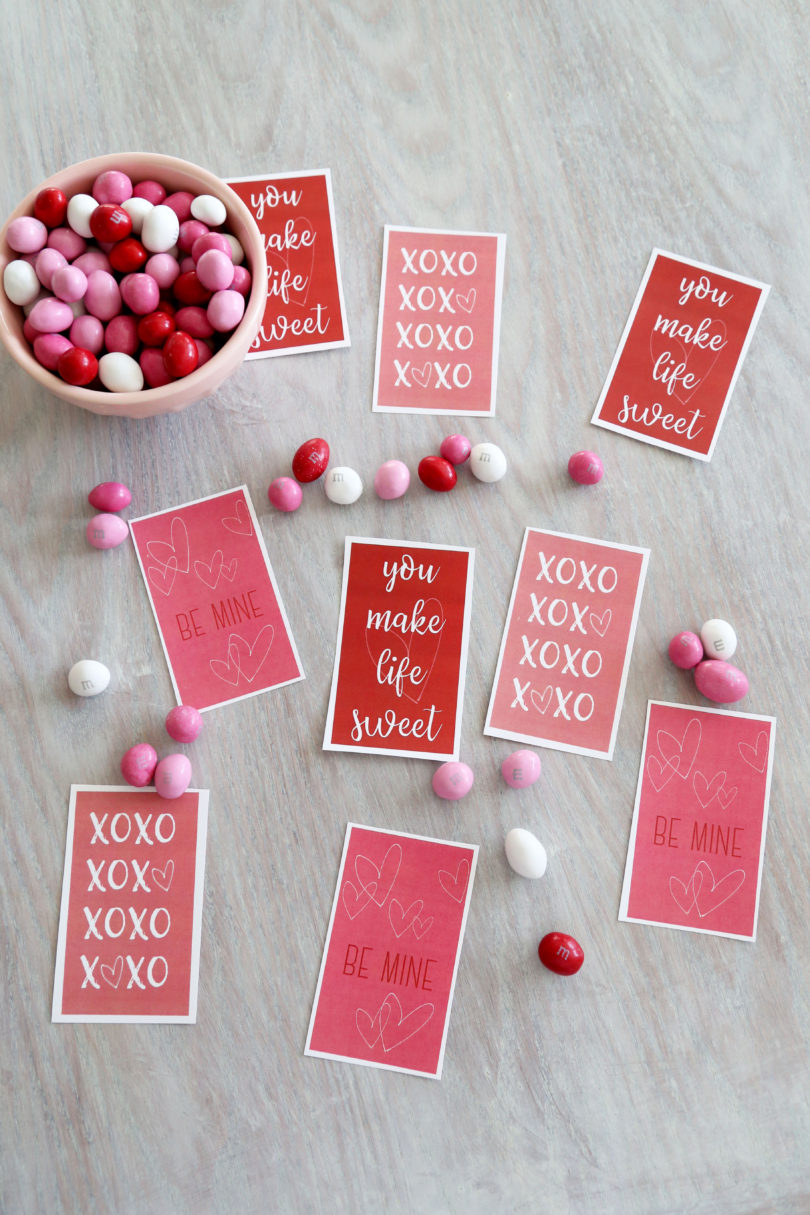 A Valentines Day Printable Perfect for Friends by popular Utah lifestyle blogger By Jen Rose