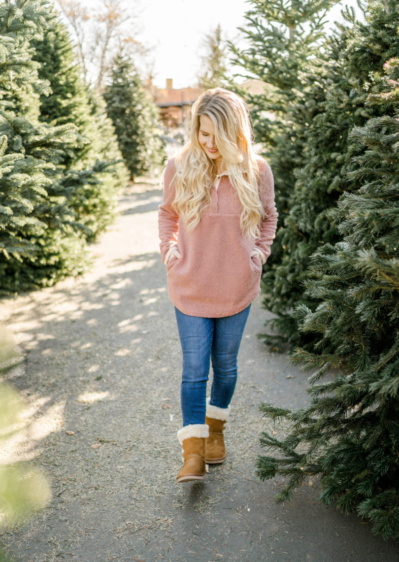 Mom & Daughter Cozy Winter Outfits by popular Utah style blogger By Jen Rose