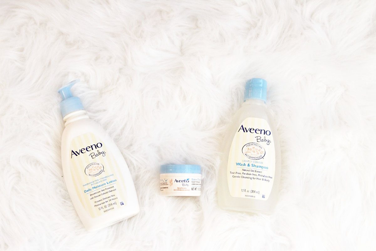 The best Aveeno products for our family by Utah lifestyle blogger By Jen Rose