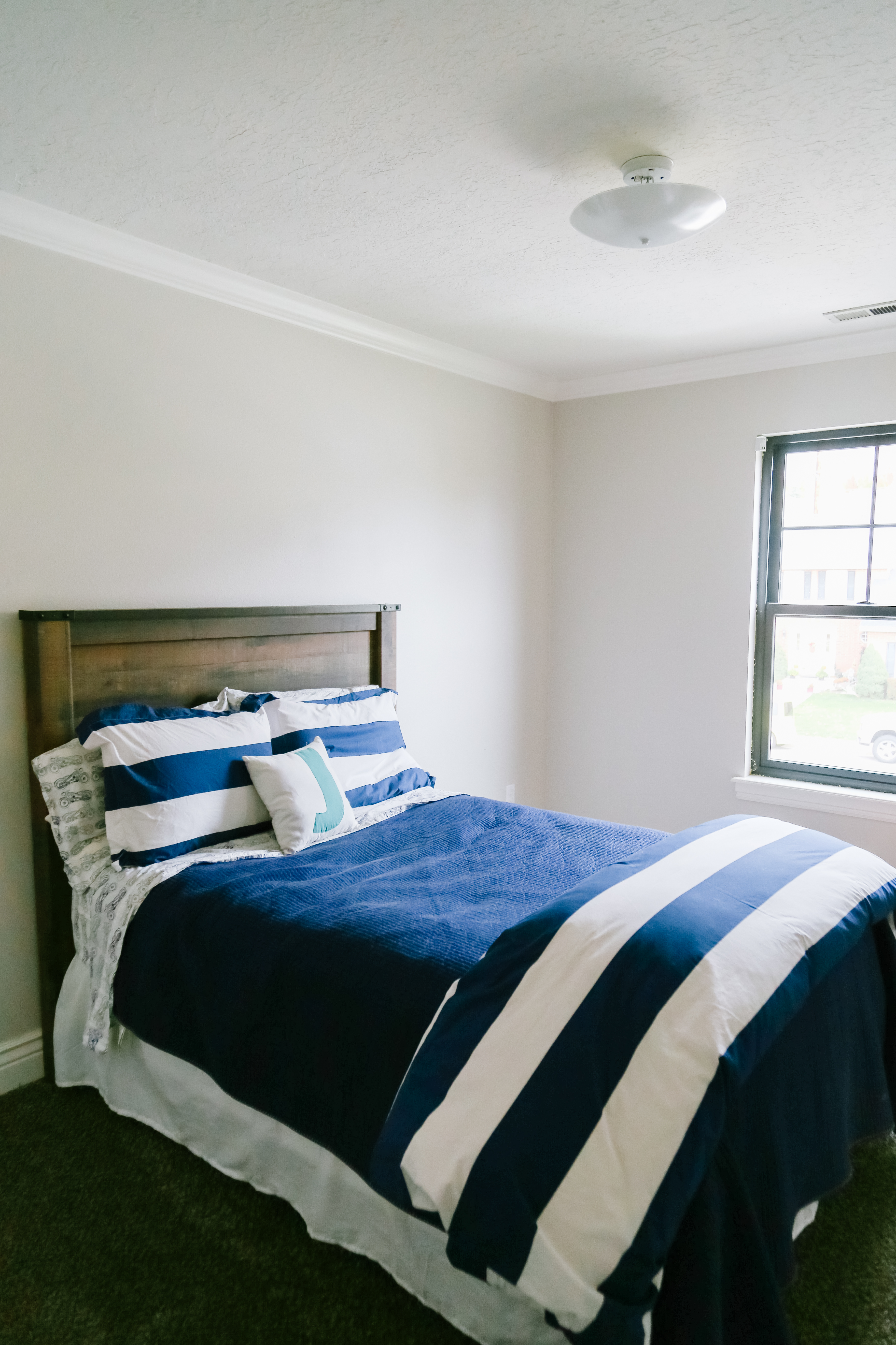 Boys bedroom makeover featured by Utah lifestyle blog, By Jen Rose: before