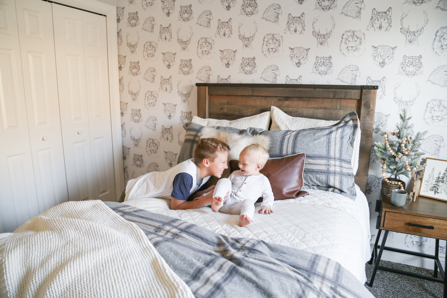 Boys bedroom makeover with Kohls featured by Utah lifestyle blog, By Jen Rose: after