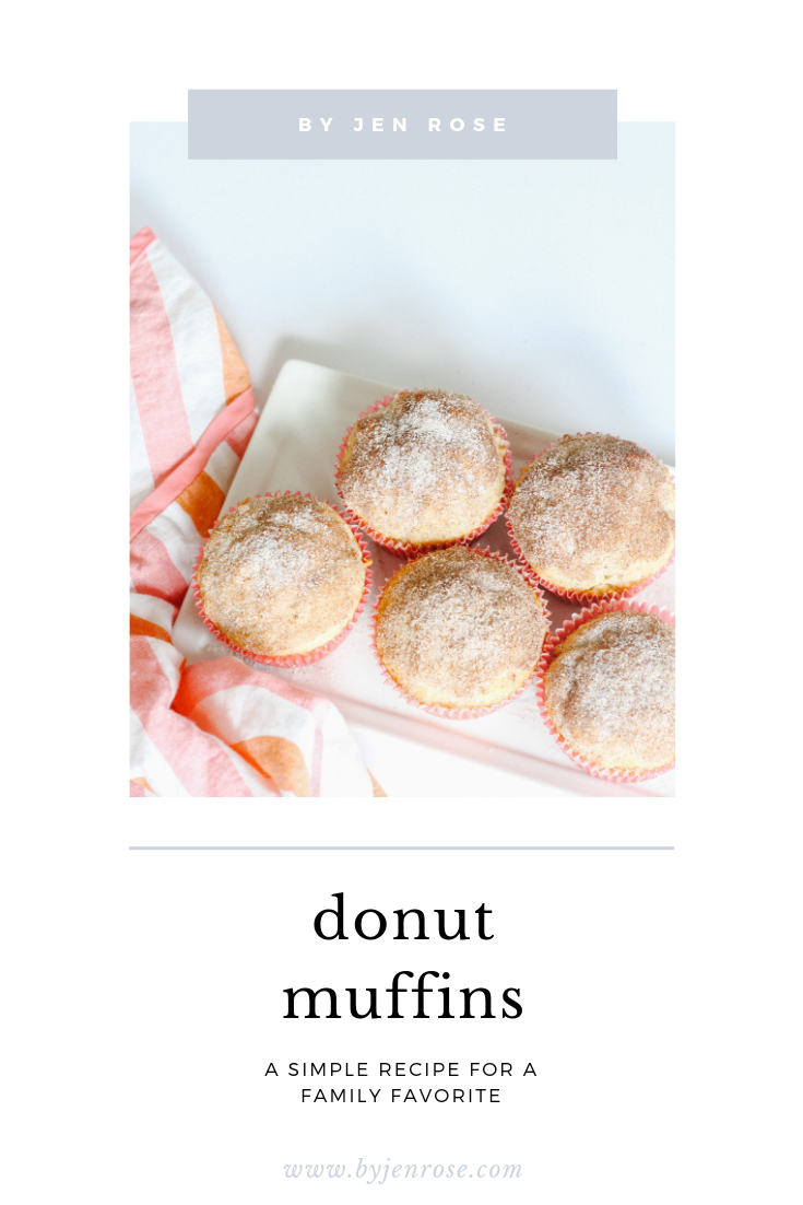 Old Fashioned Donut Muffins Recipe featured by US lifestyle blogger, By Jen Jurca