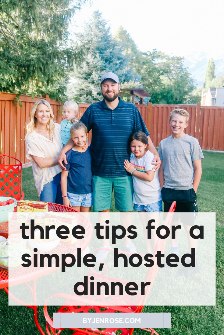 Tips for Hosting a Simple Summer Dinner Party featured by US lifestyle blogger, By Jen Rose