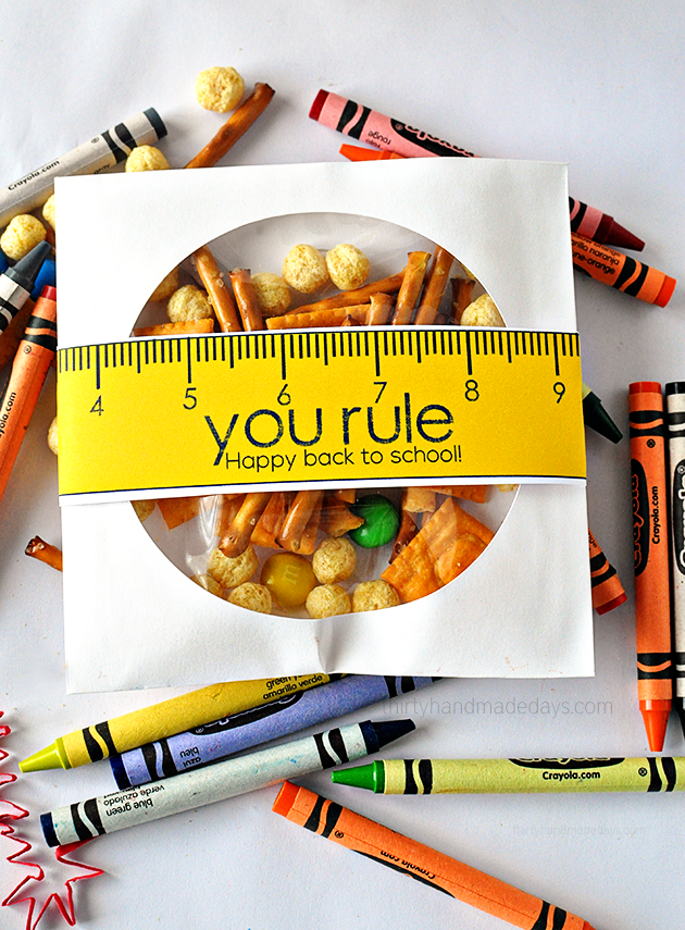 FREE back to school printables featured by US life and style blogger, By Jen Rose