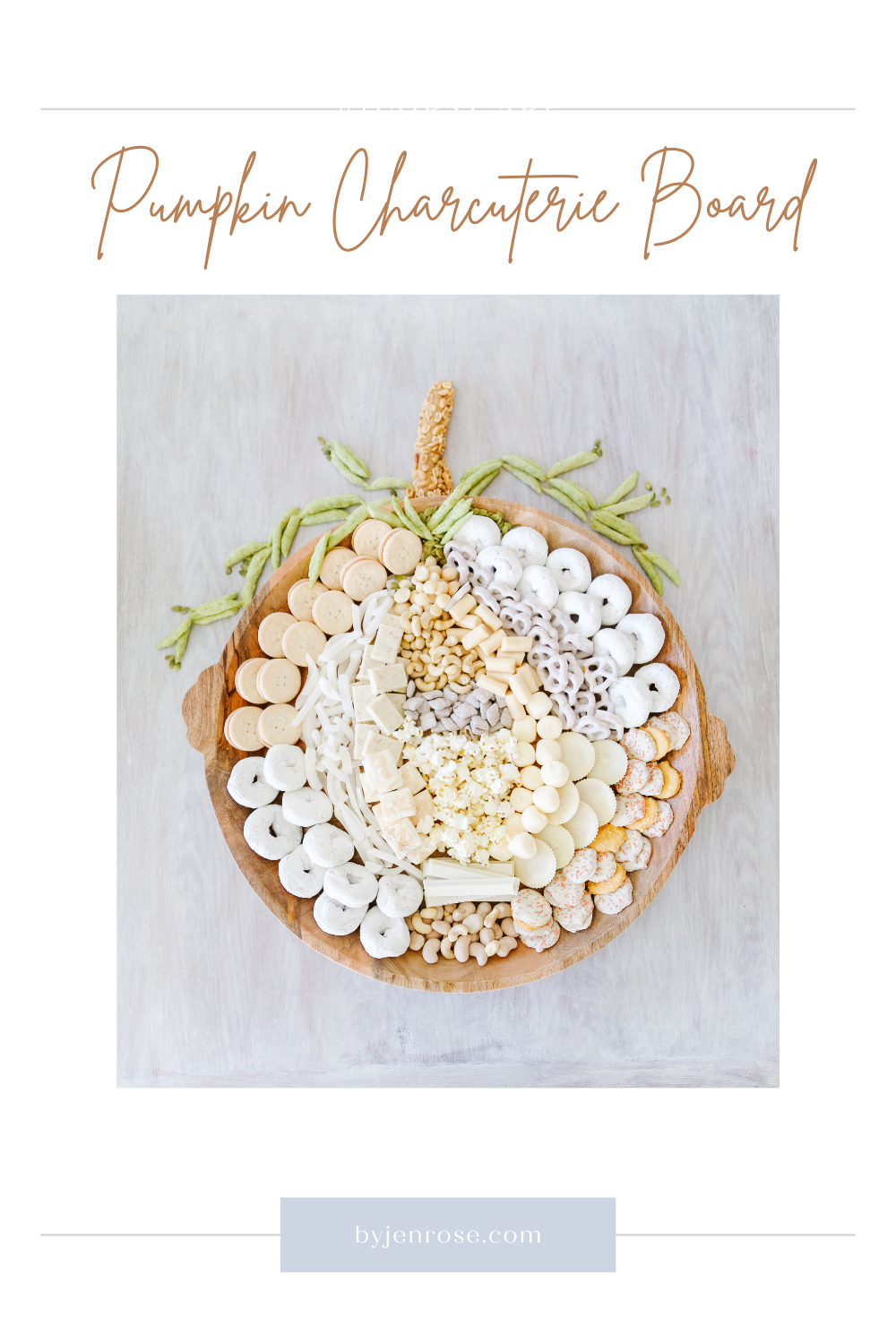 How to Make a DIY Pumpkin Snack Board featured by Utah lifestyle blogger, By Jen Rose