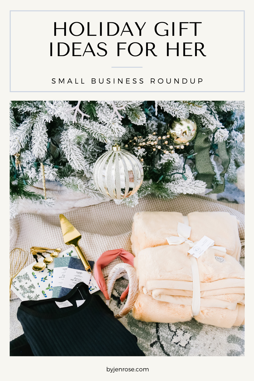 Unique Holiday Gift Ideas for Her featured by Utah lifestyle blogger, By Jen Rose
